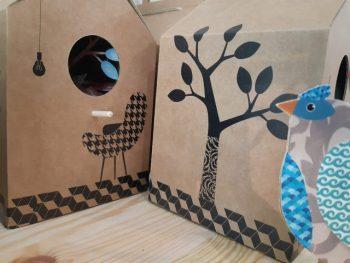 casetta degli uccellini laboratorio 16 - R nel bosco