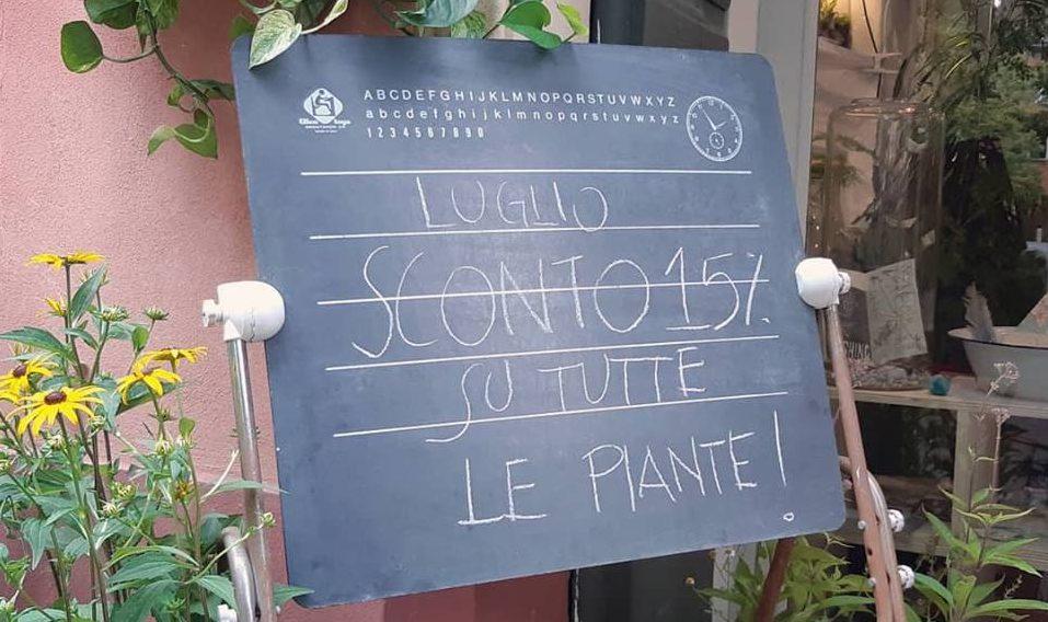 luglio 2018 sconto 15% piante semi - R nel bosco Reggio Emilia