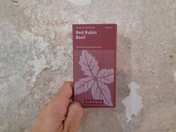 semi piccolo seeds basilico - R nel bosco