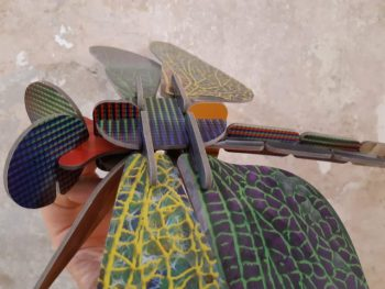 libellula - totem dragonfly - R nel bosco