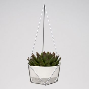hanging planter Delta - himmeli DIY - kit portavaso - R nel bosco