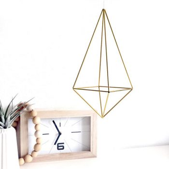 himmeli Drop medium - DIY - geometrie da appendere - R nel bosco