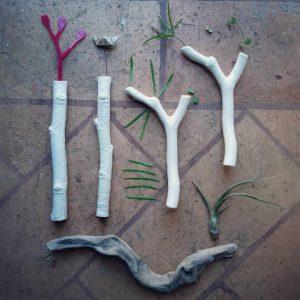 contenitore per fiori - R nel bosco