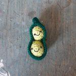 pisello - verdure all'uncinetto - R nel bosco (19)